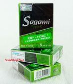 Bao cao su có gai Sagami Type E : Mua 6 hộp tính tiền 5