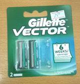 Đầu lưỡi dao cạo Gillette Vector (2 đầu thay)