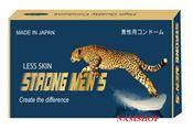 Bao cao su mỏng trơn Strong Men's Less Skin của Nhật