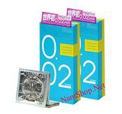 Bao cao su cao cấp JEX 0.02, mỏng nhất thế giới của Nhật Bản