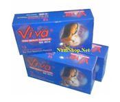 Bao cao su có hương thơm trái cây VIVA (12c)