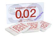 Bao cao su không gây dị ứng SAGAMI Original 0.02