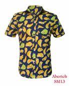 Áo hoa quả cực độc đáo cho nam Aberich SM13 họa tiết chuối