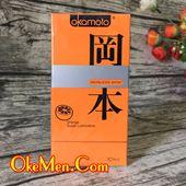 Bao cao su hương cam Okamoto Orange H10c
