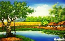 Phong cảnh đồng quê 39
