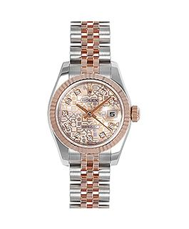 Rolex DateJust 116231 Demi Rose Gold