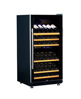 Tủ Bảo Quản Rượu Vang - Wine Chiller 72D 2 Vùng Nhiệt Độ