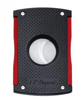 S.T. Dupont Coupe cigares S.T Dupont Maxi Jet Noir mat et rouge