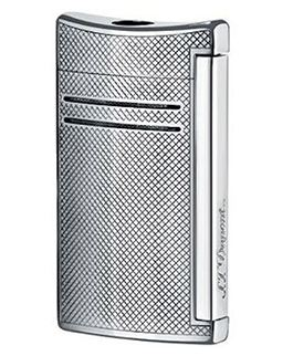 S.T. Dupont MaxiJet Chrome Grid Lighter