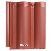 Ngói màu Ruby RD03 - Đỏ đậm