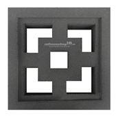 Gạch bông gió cube H-006