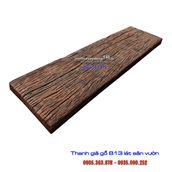 Thanh giả gỗ B13 màu đen nâu