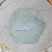 Đá băm xanh rêu lục giác 30x30