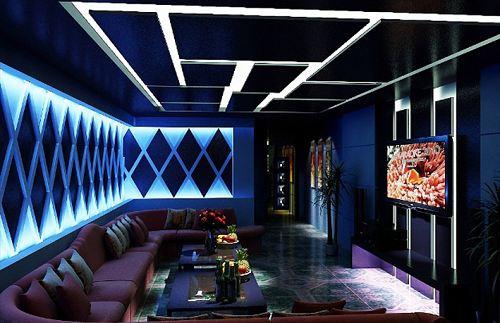 Mẫu thạch cao quán karaoke đẹp