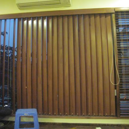 Rèm gỗ đứng MS007