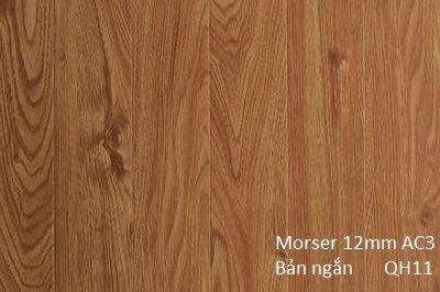 Sàn gỗ Morser 12mm bản ngắn