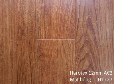 Sàn gỗ Harotex 12mm AC3 bóng