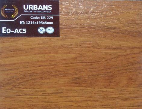 Sàn gỗ Urbans 8mm AC5