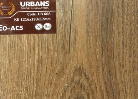 Sàn gỗ Urbans 12mm AC5 bản to