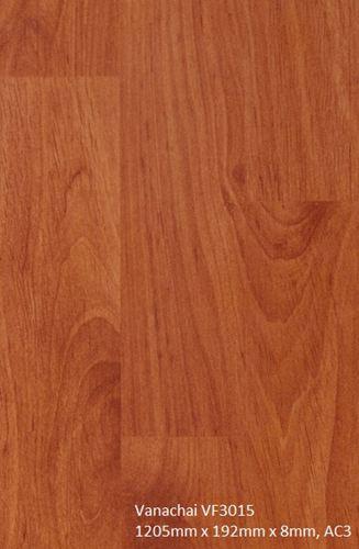 Sàn gỗ Vanachai 8mm bản to