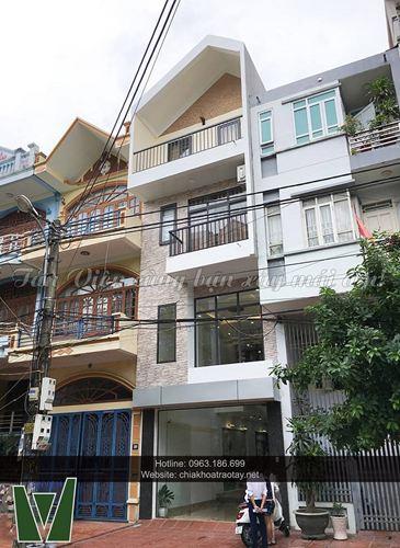 Xây nhà trọn gói - Nhà phố Đội Nhân, Ba Đình, Hà Nội