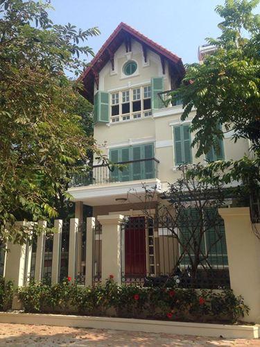 Xây nhà trọn gói - Biệt thự 35 Thạch Bàn, Long Biên,  Hà Nội