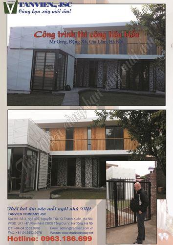 Xây nhà trọn gói - Biệt thự Đồng quê thôn Viên Ngoại, Gia Lâm