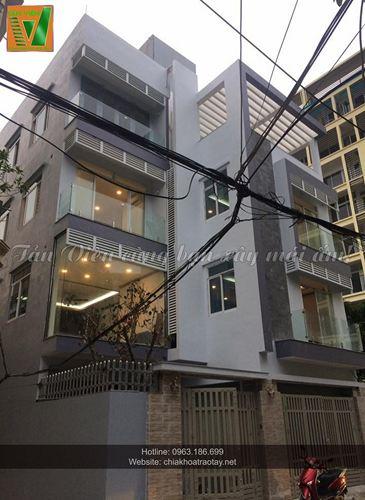 Xây nhà trọn gói - Biệt Thự Chú Trung Vạn Phúc, Ba Đình - Hà Nội
