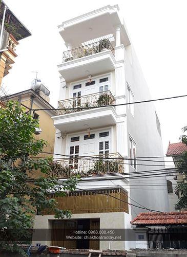 Xây nhà trọn gói - Nhà Mr Dương ngõ 65 đường Ngọc Thụy, Long Biên - Hà Nội