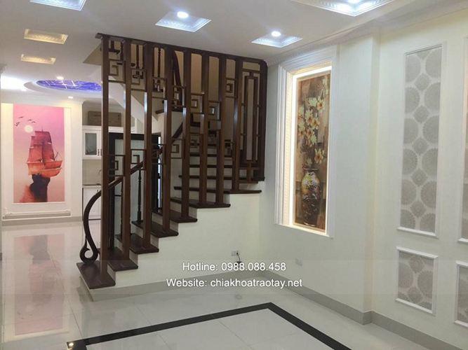 Xây nhà trọn gói - Nhà phố ngõ Trạm, Long Biên, Hà Nội