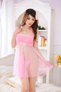Váy Ngủ Voan Hồng 0410