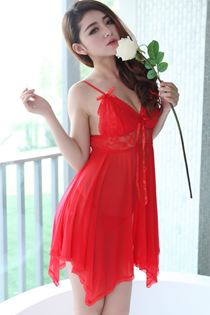 Váy Ngủ Cao Cấp Size Lớn 0540 Đỏ