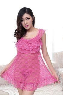 Váy Ngủ Công Chúa 0598 Cánh Sen