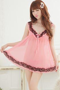 Đầm Ngủ Cỡ Lớn 0607 Màu Cà Rốt