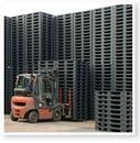 Pallet nhựa cũ kích thước 11 x 11 x 15cm hàng nhập khẩu từ Hàn, Nhật