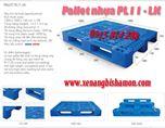 Pallet nhựa PL11LK tải trọng cao kích thước 1200 x 1000 x 150mm