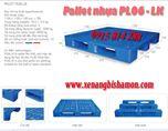 Pallet Nhựa PL 06LK kích thước 1100 x 1100 x 150mm,