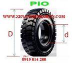Bánh xe nâng, vỏ xe nâng, lốp xe nâng PIO - Thái