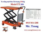 Xe nâng mặt bàn, xe nâng bàn tải trọng 350Kg hiệu Eplift