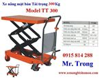 Xe nâng mặt bàn, xe nâng bàn tải trọng 300Kg hiệu Eplift