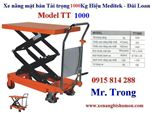 Xe nâng mặt bàn, xe nâng bàn tải trọng 800Kg hiệu Eplift
