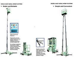 THANG NÂNG NGƯỜI 6~20m, trọng tải 100~1000 kg, Hàng OPK( NHẬT)