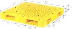 PALLET NHỰA NHẬP KHẨU MODEL GT4F 150 . 150 1500*1500*150mm