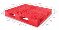 Pallet nhựa PL05LK 1200 x 1000 x 150mm