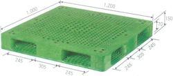 Pallet nhựa nhập khẩu với đầy đủ kích thước giá rẻ