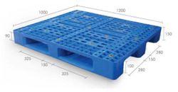 Pallet nhựa PL04LK 1200 x 1000 x 150mm