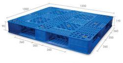 Pallet nhựa PL02-HG 1200 x 1000 x 145mm