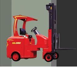 XE NÂNG ĐIỆN MODEL NA QUAY 180 ĐỘ (Narrow Aisle Forklift)