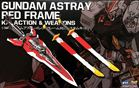 RG 1/144 Astray Red Frame Kai Optional Equipment Parts (bộ kiếm cho RG Astray red)