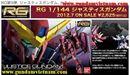 Robo GUNDAM hàng mới về 08-08-12 Justice Gundam (RG)